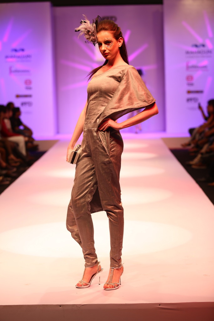 Fashion Show by Fashionista School Students on Day 2 at India Runway Week (14)