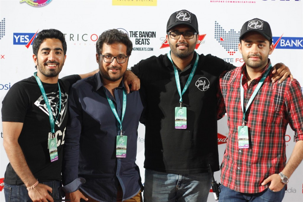 L-R, Chaitanya Mathur, Aman Kumar, Mani Singh Cheema and Arjun Jain (Custom)
