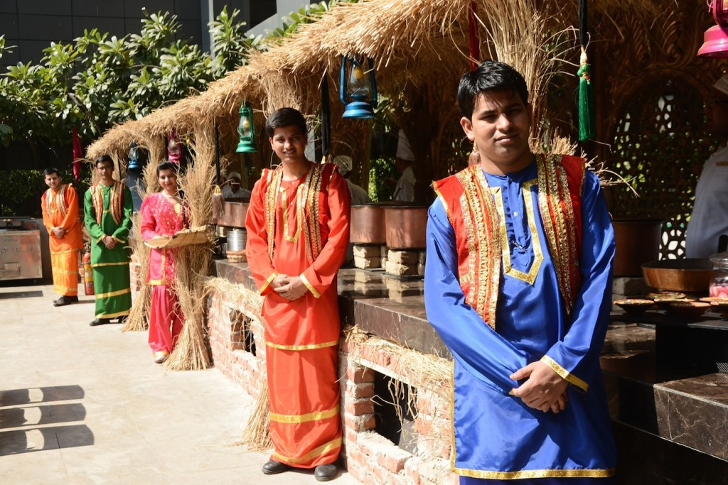 An Amritsari village recreated at Frangipani Lawn, The Leela Ambience Convention Hotel (1)