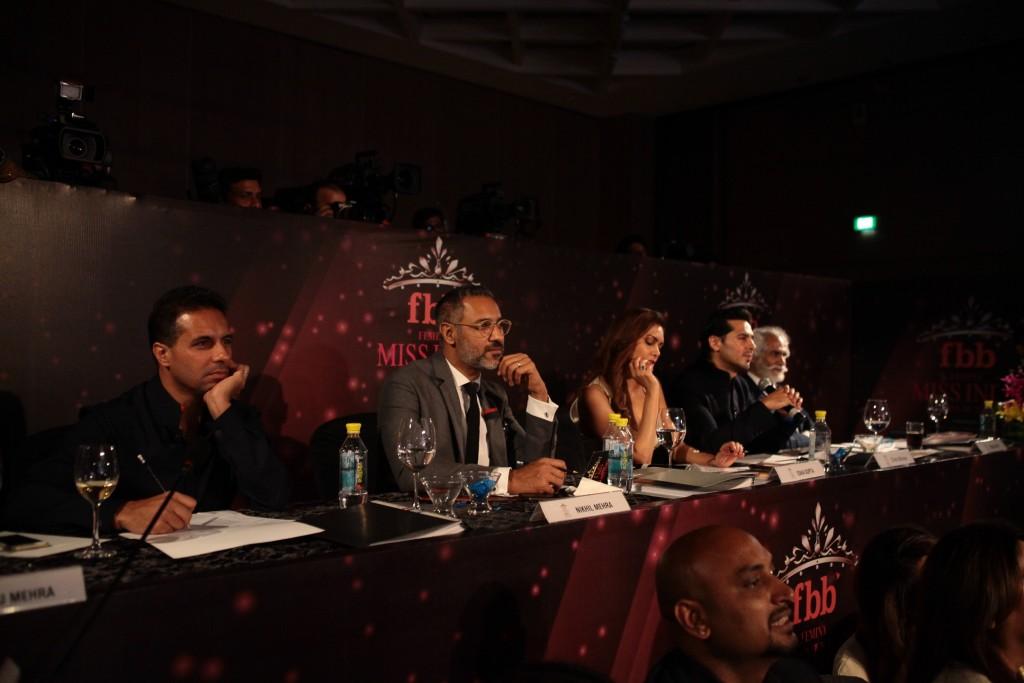 Judges from left - Shantanu & Nikhil, Esha Gupta, Dino Morea, Sunil Sethi