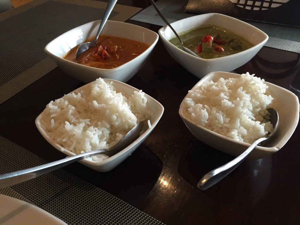 Thai Curry with Sticky Rice