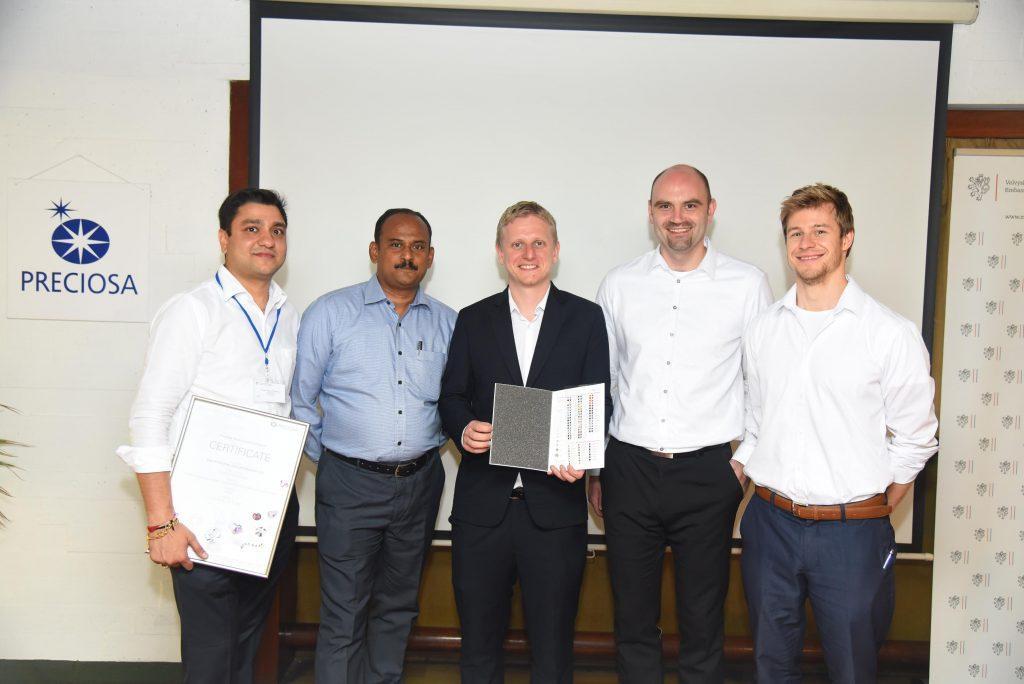 Avinash Jain, Mr Sunderrajan, Jiri Vojtech, Marek Kinazs, Martin Spalek