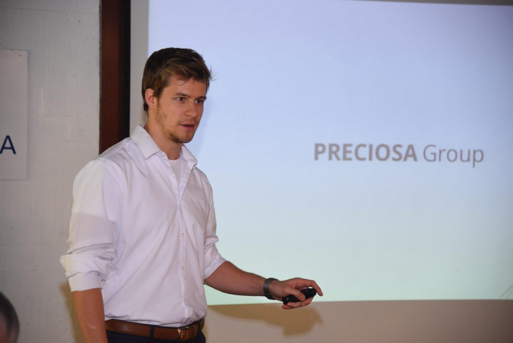 Martin Spalek- Key Account Manager, Preciosa