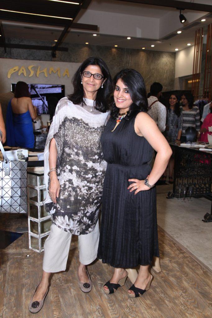 Hosts of the event Shilu Kumar and Jewelery Designer Saraswati Kaul Jain