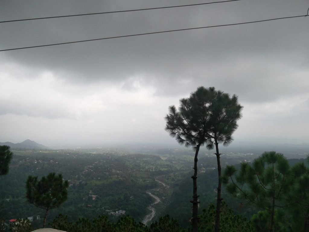 View from Jakhni Mata Mandir
