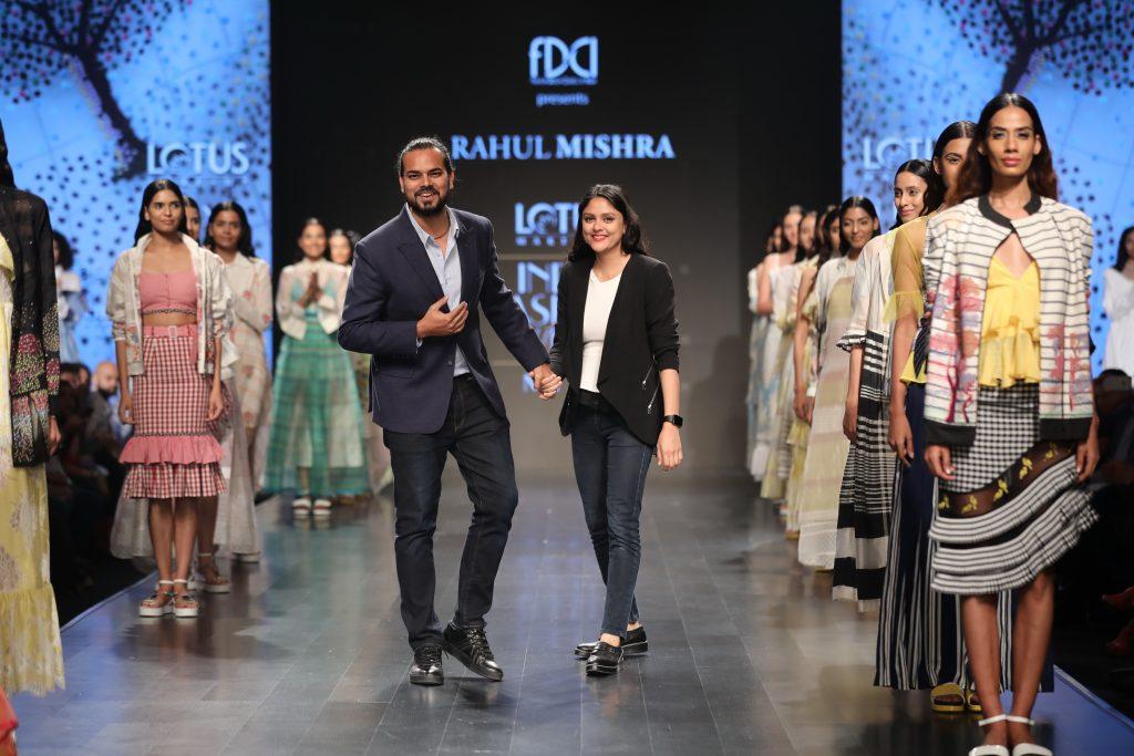 Designer Rahul and Divya Mishra